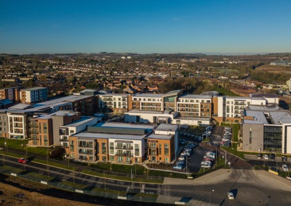 Longbridge Village Aerial View