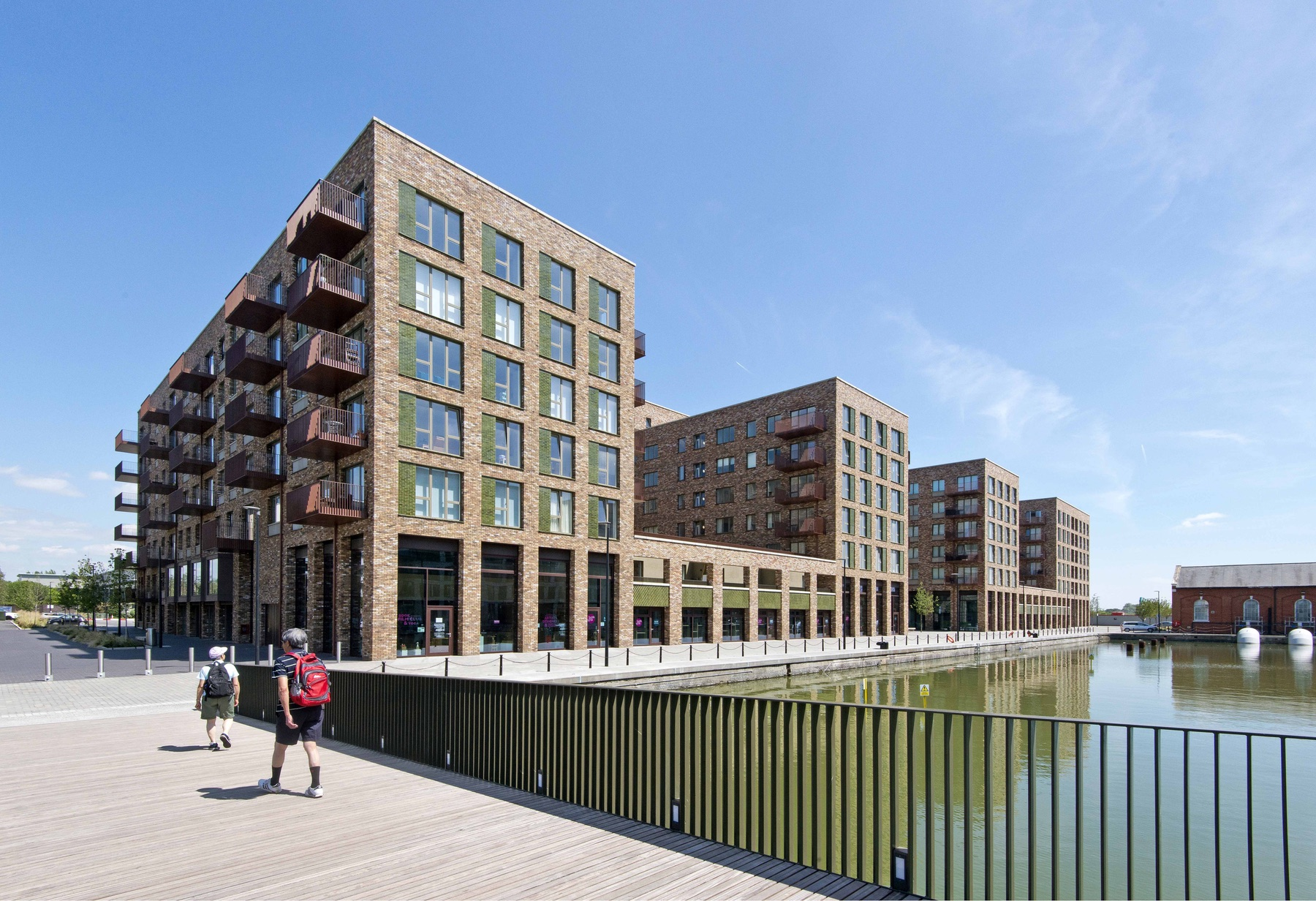 Royal Albert Wharf - Great Eastern Quays Street View