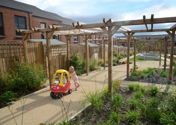 Gateshead Regeneration Partnership Garden